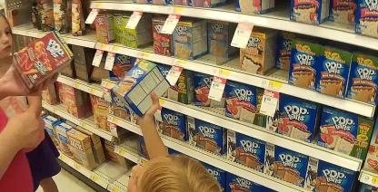 Target Pop tarts