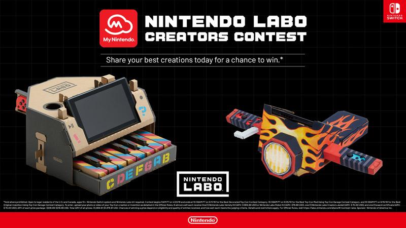 Nintendo-Labo-Concours