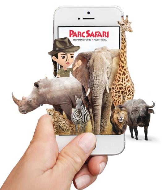 Application parc safari