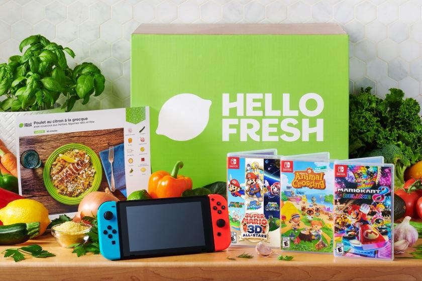 Nintendo x HelloFresh - French