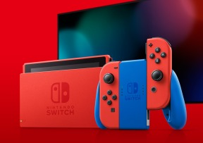 Nintendo Switch bleu et rouge 3