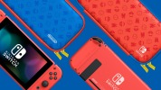 Nintendo Switch bleu et rouge 4